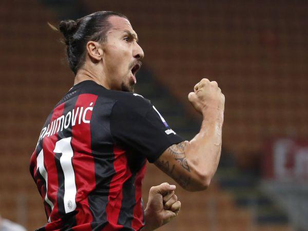 Bóng đá sáng 22/9: Ibrahimovic lập cú đúp trong trận đầu tiên tại Serie A