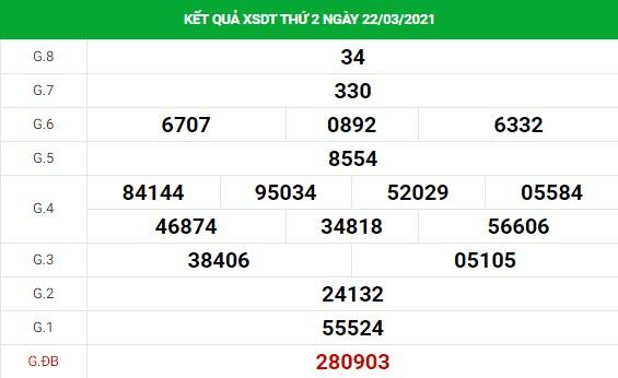 Soi cầu XS Đồng Tháp chính xác thứ 2 ngày 29/03/2021